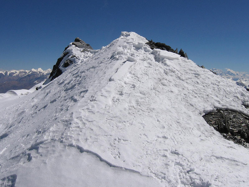 Dhaulagiri Dhampus peak