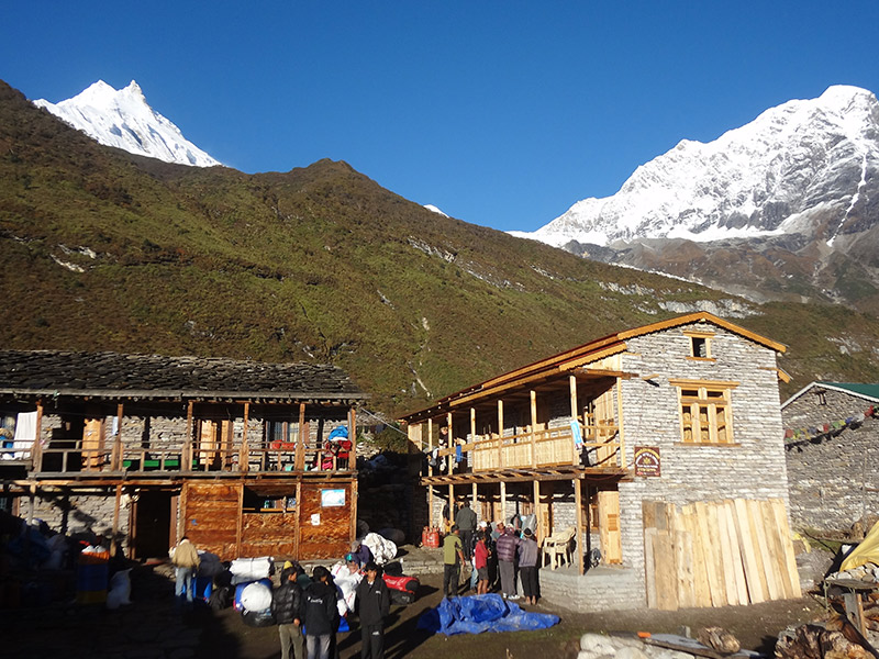 Manaslu Sanctuary and the Hidden Valley Trek