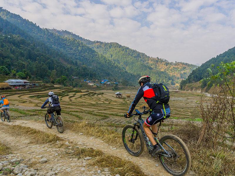 E-Biking-Kathmandu to Pokhara