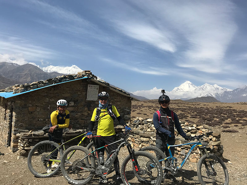 E-Biking to Upper Mustang-Lomanthang